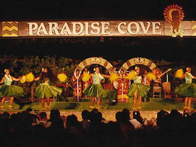 Paradise cove luau menu - 74ff